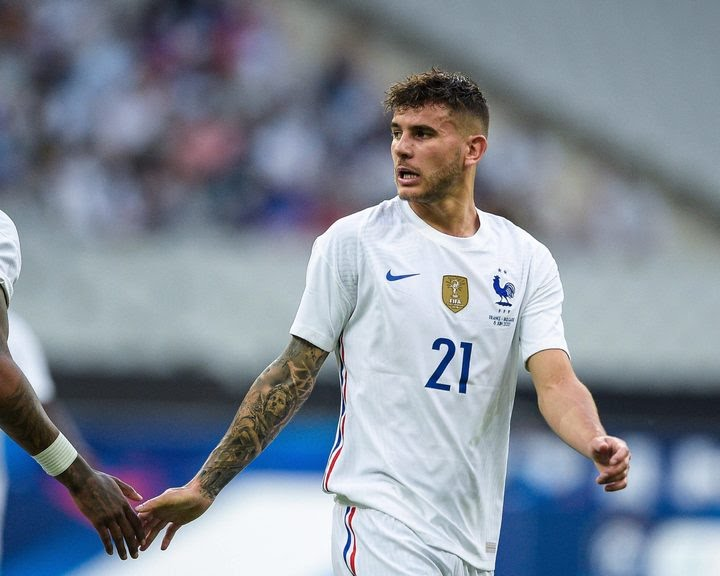 Bayern Munich defender Lucas Hernandez will be out for several weeks after surgery on a knee injury sustained with France at Euro 2020.